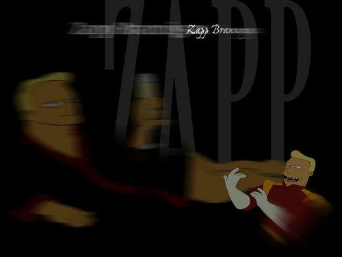 Futurama wallpaper titled Zapp Brannigan