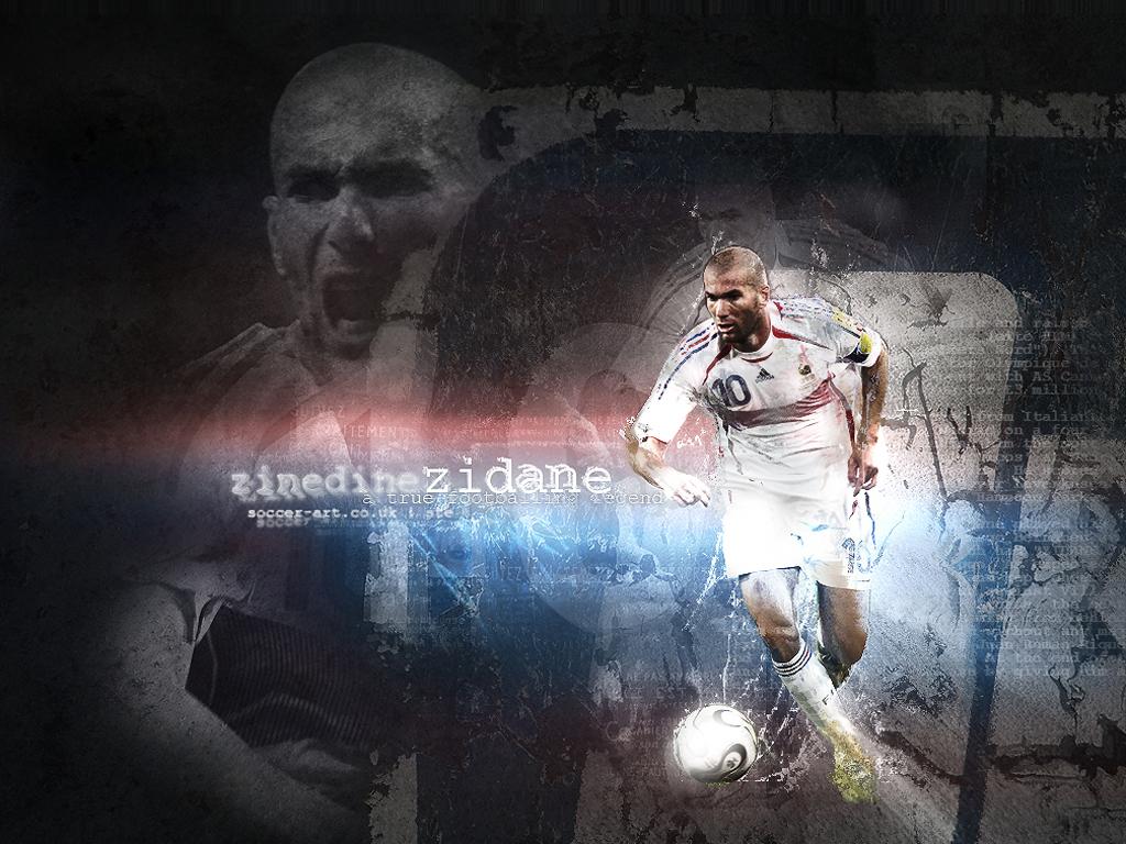 Zidane - Wallpaper Hot