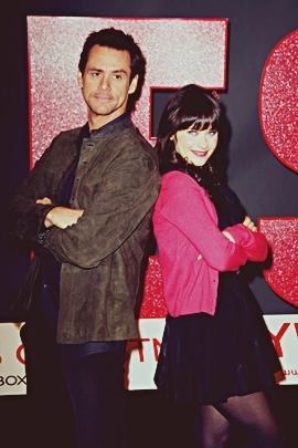 Zooey & Jim Carrey