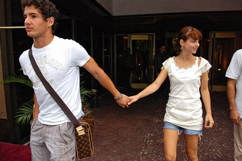 alexandre pato and his girlfriend  - wags Photo