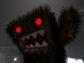 domo-kun at night