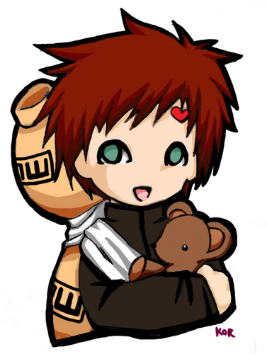 Chibi images gaara wallpaper and background photos (3217500) Gaara And Naruto Chibi