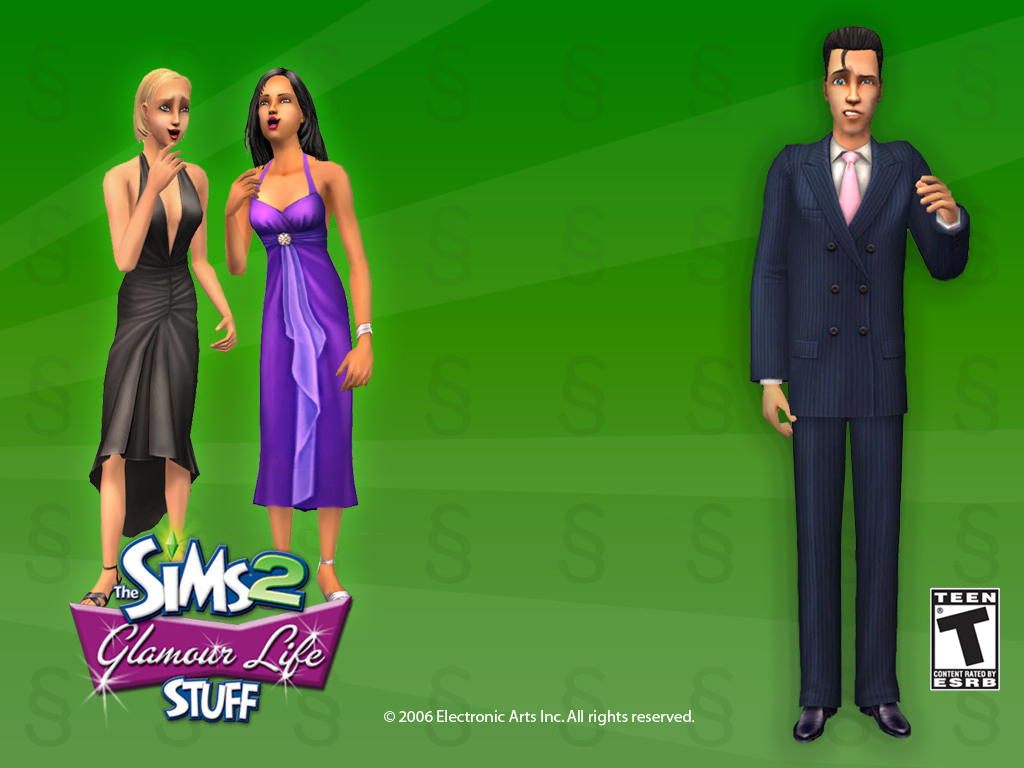 stuff packs - The Sims 2 1024x768 800x600