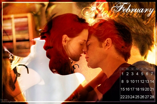Robert Pattinson wallpaper entitled twilight calendar