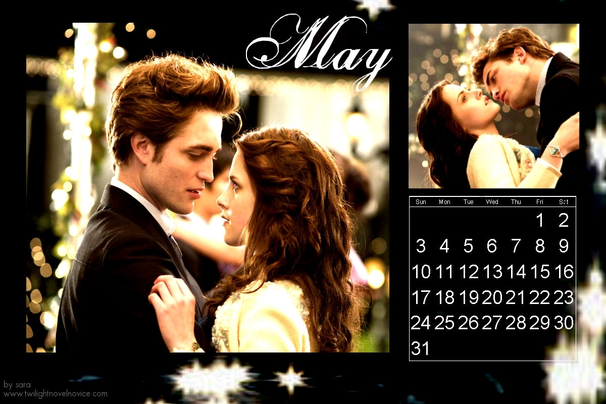 twilight calendar - Ro... Robert Pattinson Calendar