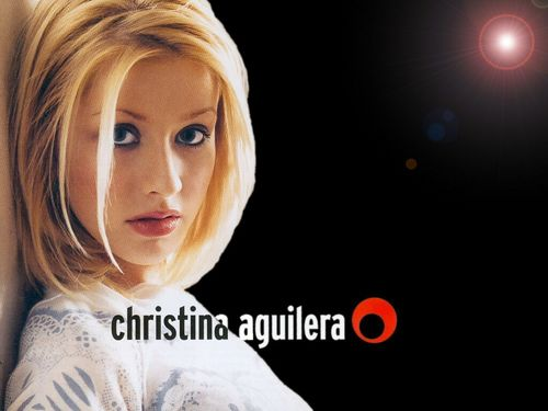 Stars' childhood pictures wallpaper titled young Christina Aguilera