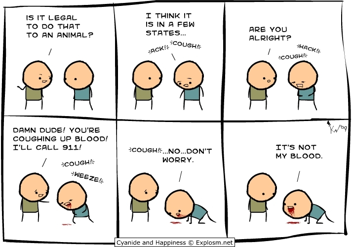 2009 newest comics! - Cyanide and Happiness 715x500