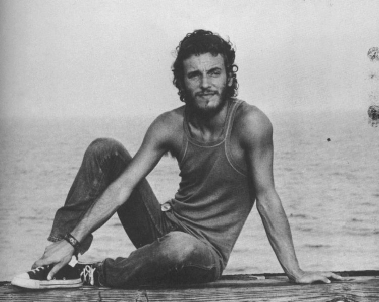 A Young Bruce Springsteen