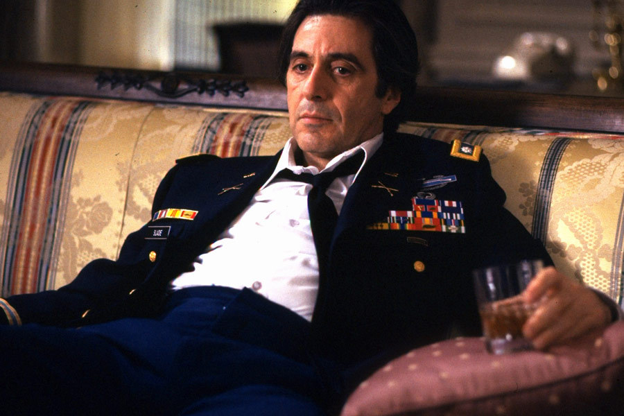 Scent Of A Woman Images Al Pacino As Lieutenant Colonel Frank Slade