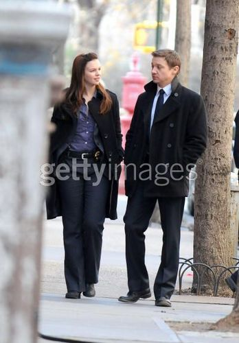 Amber with Jeremy Renner