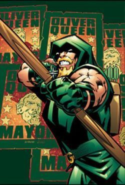 Angry Oliver Queen