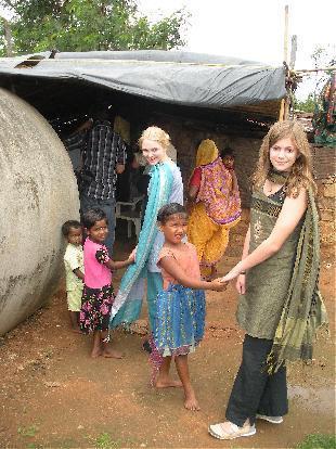 AnnaSophia in India