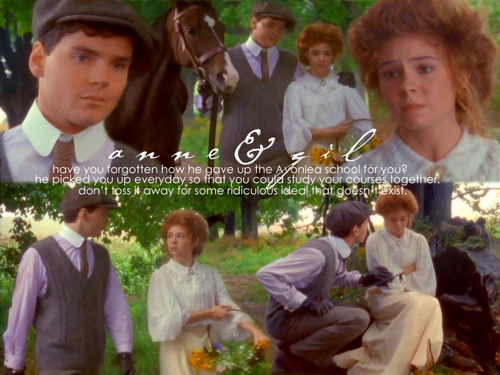 Anne of Green Gables Hintergrund possibly with a business suit and a bridesmaid titled Anne-Ideal