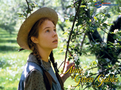 Anne of Green Gables wallpaper possibly containing a boater and a fedora titled Annewp3