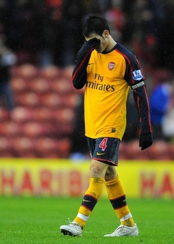 Arsenal vs. Middlesbrough, Dec 13, 2008