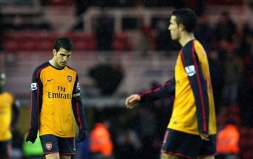 Arsenal vs. Middlesbrough, Dec 13, 208