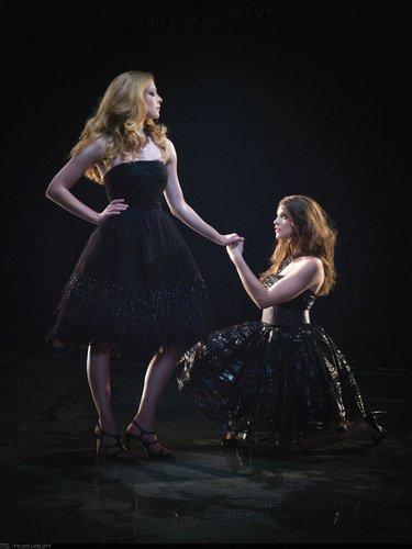 Ashley and Rachelle Photoshoot for H magazine