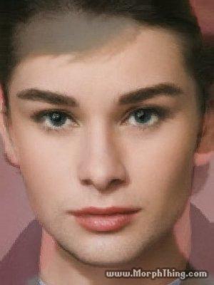 Audrey Hepburn & Chace's Baby
