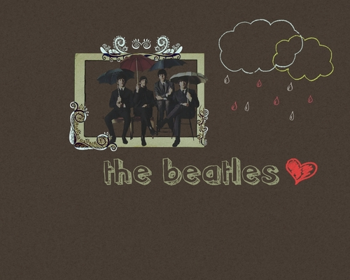The Beatles wallpaper containing a sign entitled Beatles Wallpaper