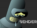 futurama - Bender Sad wallpaper