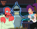 futurama - Bender's Game wallpaper