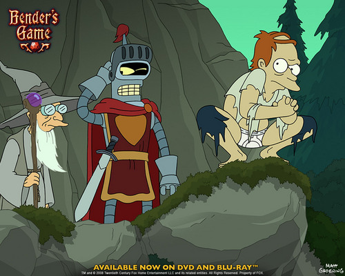 Futurama wallpaper with anime titled Bender's Game