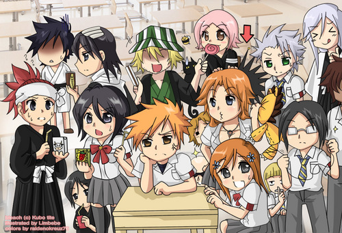 Chibi Bleach - bleach-anime Fan Art