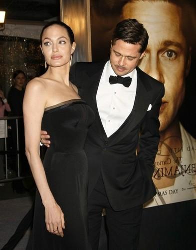 Brad Pitt and Angelina Jolie @ BB Premiere in LA