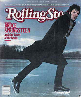 Bruce Springsteen in Rolling Stone