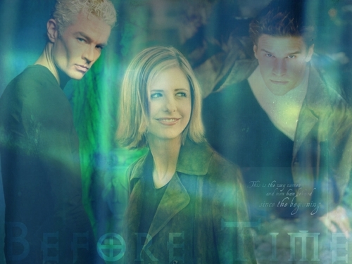 Buffy, Angel, and Spike
