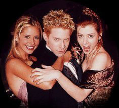Buffy, Oz, and Willow