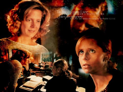 Buffy and Joyce
