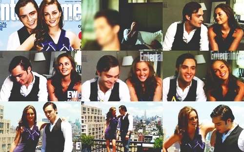 Blair & Chuck wallpaper probably containing a portrait called CB/EL