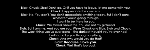 CHUCK & BLAIR ~ A TRUE cinta EPIC cinta STORY! QuOtEs 2x13
