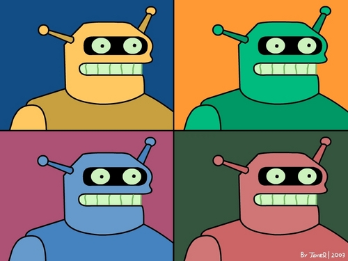Calculon - futurama Wallpaper