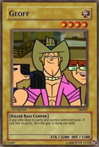 Cards - Total Drama Island