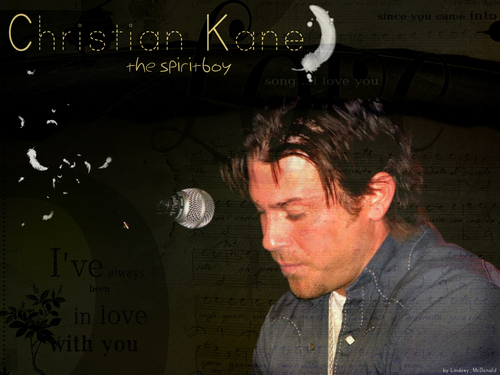 Christian Kane wallpaper probably with a sign called Christian Kane