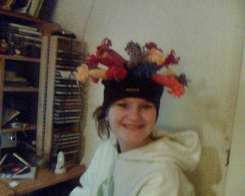 Claire's hat!