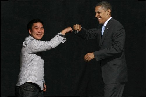 Dave and Obama