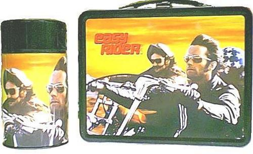 Lunch Boxes karatasi la kupamba ukuta entitled Easy Rider Lunch Box
