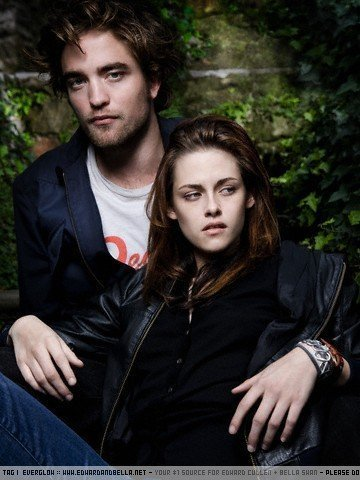 Edward and Bella wallpaper containing a well dressed person, an outerwear, and a portrait entitled Edward & Bella