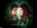 Edward & Bella - twilight-couples wallpaper