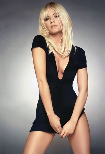 Elisha Cuthbert wallpaper probably containing a leotard, a bustier, and tights called Elisha in Maxim