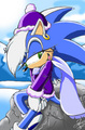 Frost the Hedgehog