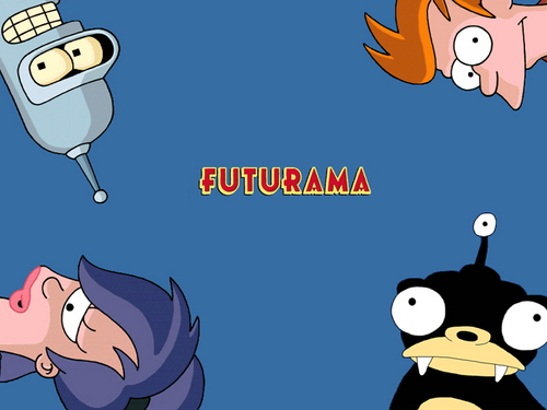 Futurama wallpaper containing anime titled Futurama