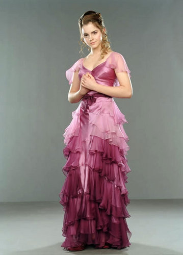 Hermione Granger wallpaper with a gown and a dinner dress titled Goblet of Fire