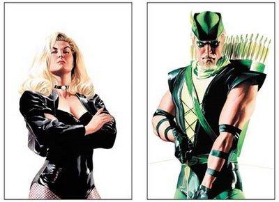 Green Arrow - Black Canary