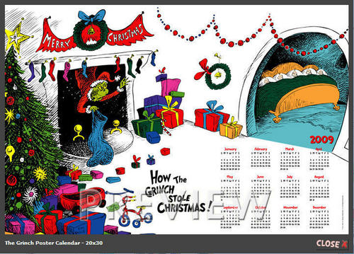 How The Grinch stahl, stola Weihnachten Calendar