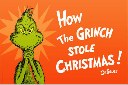How The Grinch ha rubato, stola Natale Poster