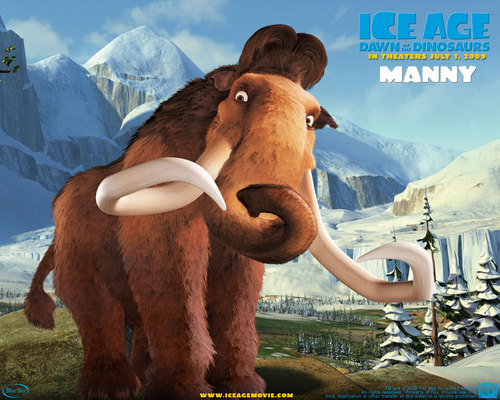 film wallpaper titled Ice Age 3: Dawn Of The dinosaurus